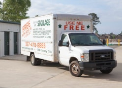 Free Use of Moving Truck With Unit Rental